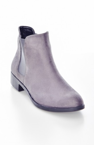 Gray Bot-bootie 5280-01