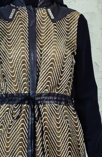 Mesh Long Tunic 1621484-992 Black Mustard 1621484-992
