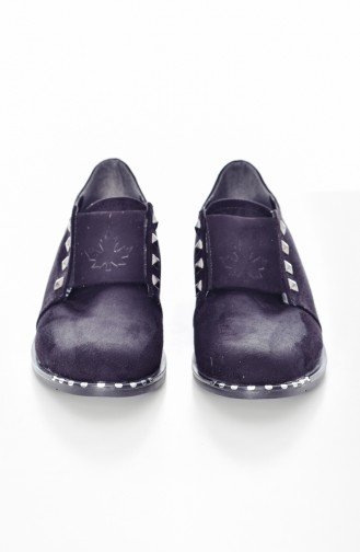 Black Casual Shoes 108K-01