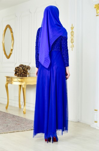 Lace Evening Dress 2538-03 Saks 2538-03