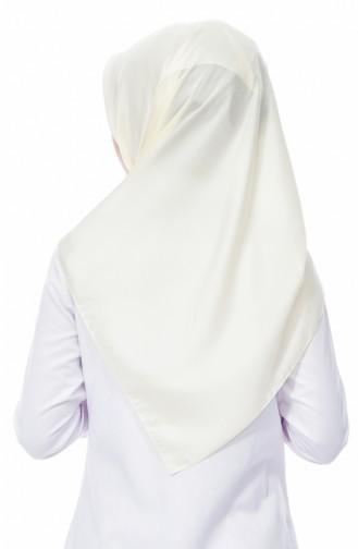 Karaca Plain Crystal Shawl 90520-16 Cream 90520-16