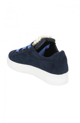 أحذية رياضية أزرق كحلي 6055-01