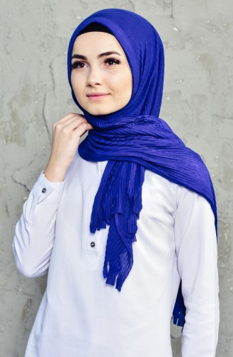 Saxon blue Sjaal 1011-22