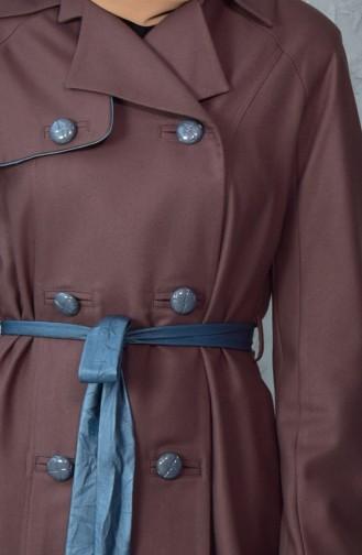 Belted Coat 1729099-701 Mink 1729099-701