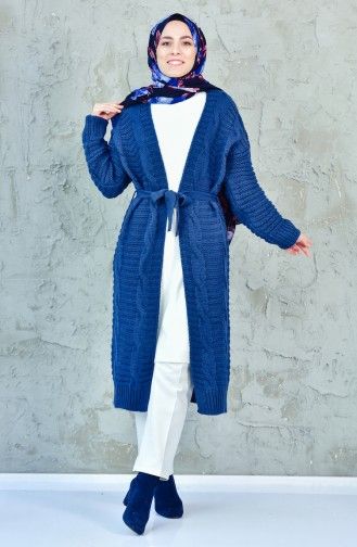 Knitwear Cardigan 0412-05 Indigo 0412-05