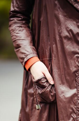 Brown Raincoat 1990-05