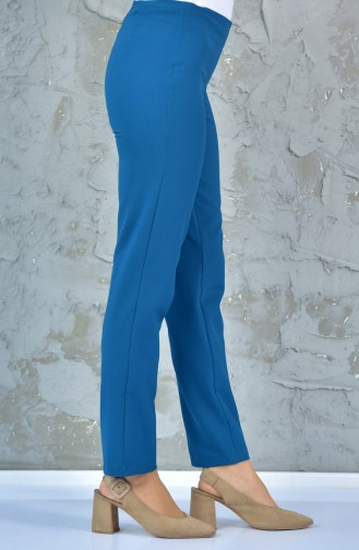 TUBANUR Zippered Pants 2988-03 Petrol 2988-03