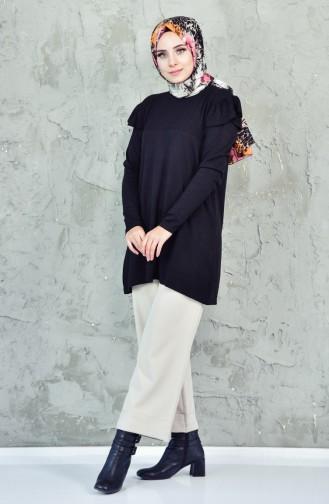 Knitwear Sweater 0320-04 Black 0320-04