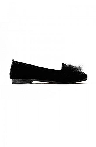 الأحذية منزل أسود 0111-01