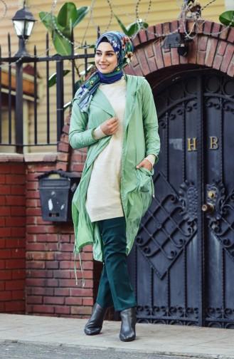 معطف واق من المطر أخضر 1990-06