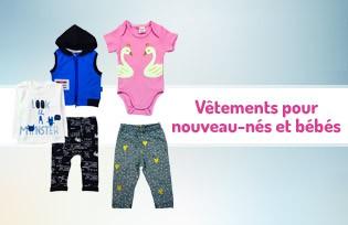 Vêtements pour nouveau-nés et bébés