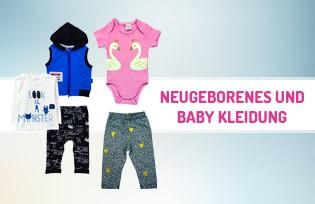 Neugeborene und Babykleidung