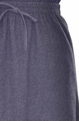 Jupe Taille élastique 1038-01 Fumé 1038-01