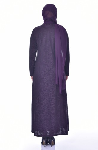 Lila Hijap Kleider 4885A-04