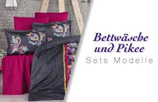 Bettwäsche und Pique Sets Modelle