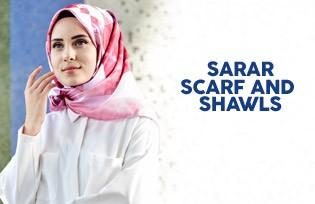 SARAR SCARVES AND SHAWLS