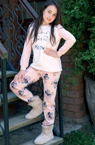 Children´s Pajamas Set MAN6332-01 Pink 6332-01
