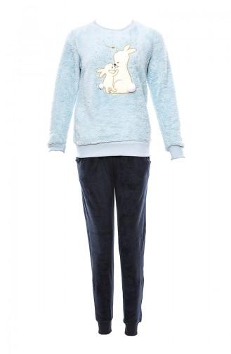 Blue Pyjama 9564-01