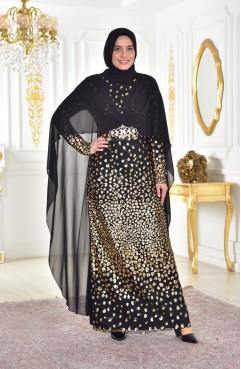 9f278c093c031 Büyük Beden Abiye Elbise Modelleri - Tesettür Giyim | SefaMerve