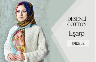 Patterned Cotton Scarf 2102