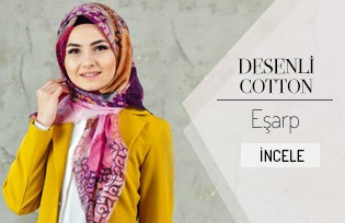 Patterned Cotton Scarf 2103