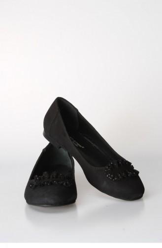 فاست ستيب حذاء للإستخدام اليومي بتصميم من الشامواه 064Za826 لون اسود 064ZA826-16777285