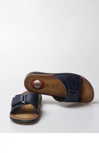 Fast Step Orthopedic Ladies Slippers  001z Kelıs Lacıvert 001ZKKELIS-16777225
