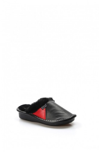 Fast Step Slippers / Sandals 733Zazenne Black Red 733ZAZENNE-16778702