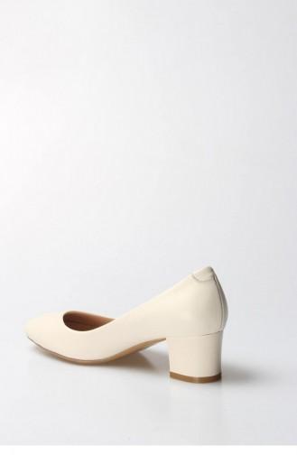 فاست ستيب حذاء بتصميم بكعب 064Za970 لون بيج 064ZA970-16777219