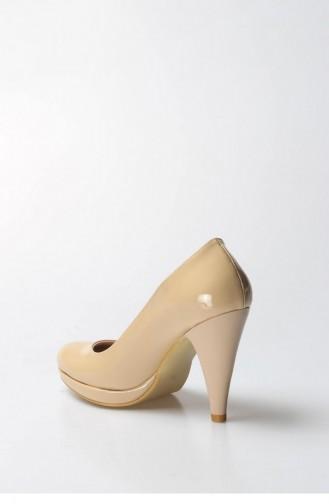 أحذية الكعب العالي لون البشرة 792ZA300-16780630