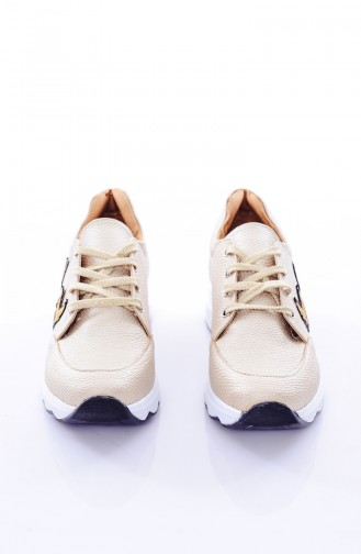 Gold Sport Shoes 653K-03