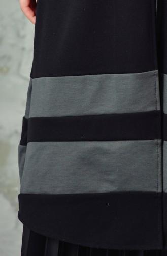 W.B Garnished Vest 6336-03 Black 6336-03
