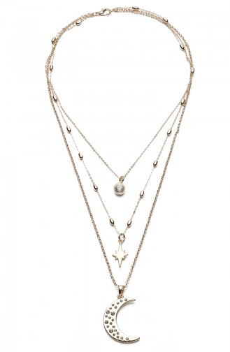 Golden Yellow Necklace 9195