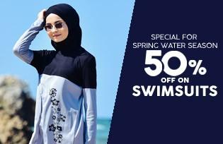 Sefamerve Swimwear 50% OFF at Checkout