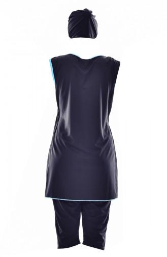 ملابس السباحة أسود 1827-04