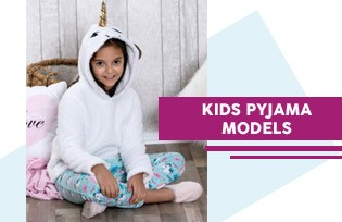 KIDS PAJAMAS MODELS