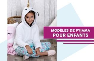 MODELES DE PYJAMA POUR ENFANT
