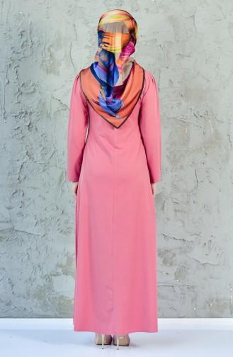 Dusty Rose Dress 4082-15