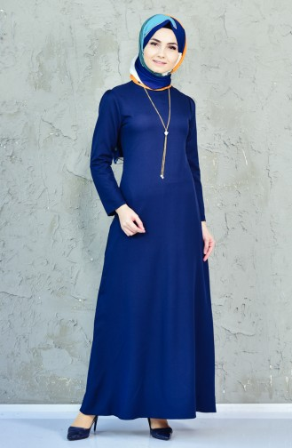 Navy Blue Dress 4082-03