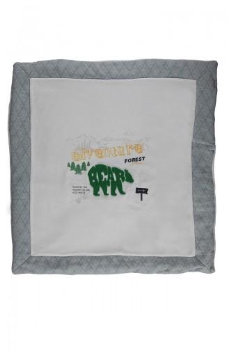 Bebetto Cotton Fiber Blanket B578-03 Green 578-03