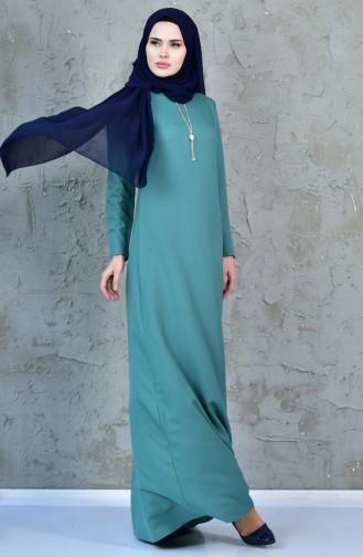 Green Dress 4082-04