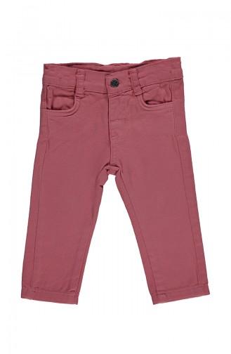 Bebetto Gabardine Pants K1982-03 Dried Rose 1982-03