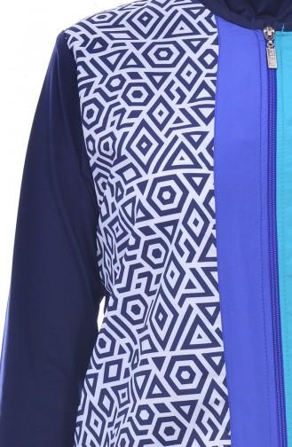 ملابس للسباحة 225-02 لون كحلي 225-02