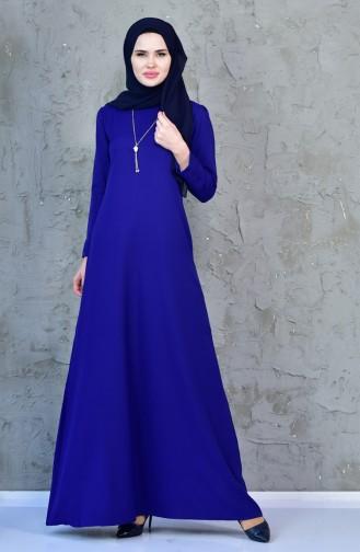 Saxon blue Dress 4082-08