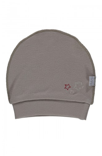 Bebetto Cotton Hat T1696-01 Beige 1696-01