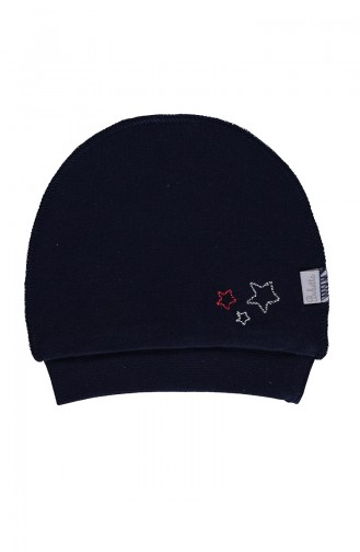 Bebetto Penye Şapka T1696-02 Lacivert