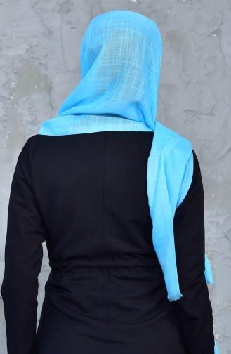 Châle Viscose 70025-38 Turquoise 38