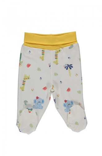 Bebetto Cotton Footed Pants T1920-01 Green 1920-01