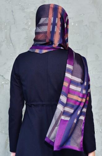 Karaca Exclusive Châle Echarpe 90543-03 Pourpre Brun 90543-03