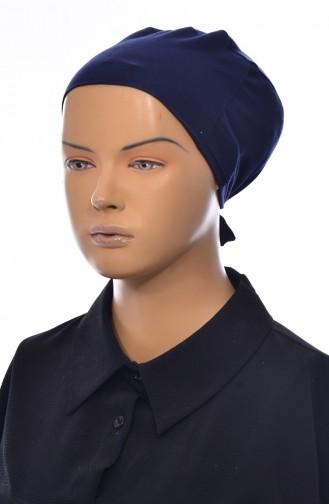 Bonnet Sans Couture 901386-03 Bleu Marine 901386-03
